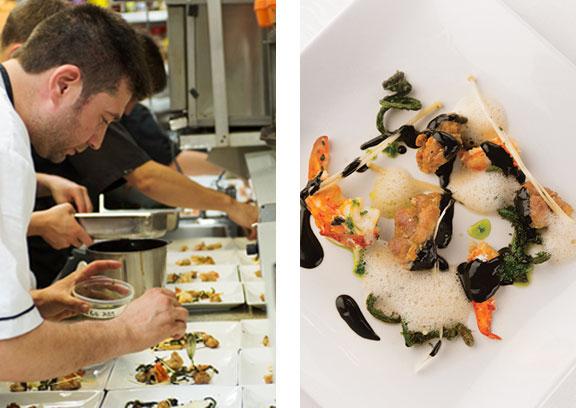 Restaurant gastronomique Mont-Tremblant